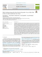 Abiotic hydrogen generation from biotite-rich granite: A case study of the Soultz-sous-Forêts geothermal site, France
