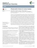 Phosphonated chelates for nuclear imaging